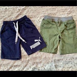 Puma Athletic & P.S. Brand Set of Boys Shorts 6